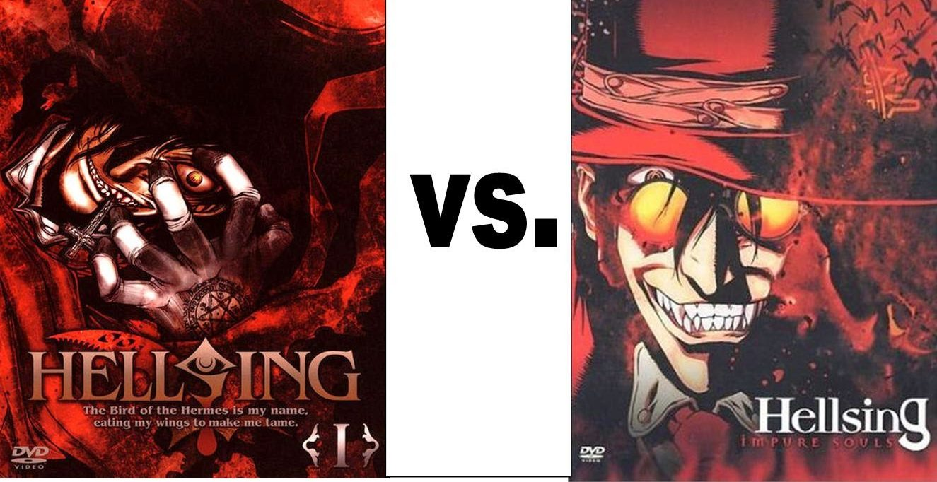 Hellsing vs. Hellsing Ultimate