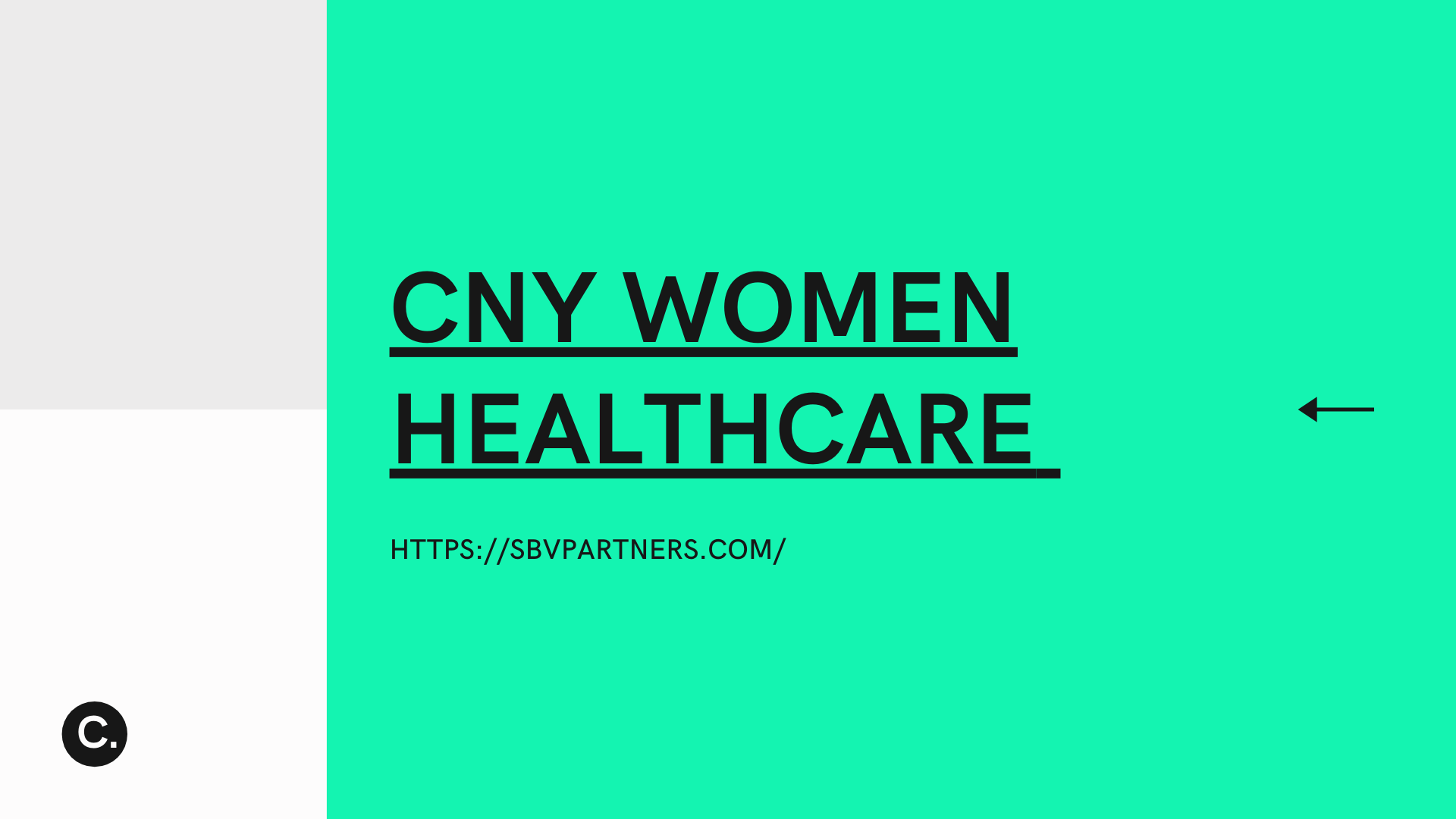 CNY WOMEN HEALTHCARE